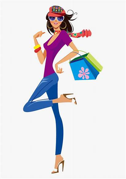 Shopping Clothing Illustration Vector Clipart Transparent Clipartkey