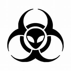 Black And White Biohazard - ClipArt Best