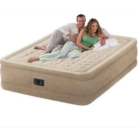 Luchtbed Tweepersoons by Intex Ultra Plush Bed Online Bij Luchtbedplaza