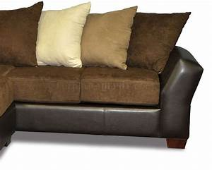 scatter back modern sectional sofa w oversized back pillows With contemporary oversized sectional sofa