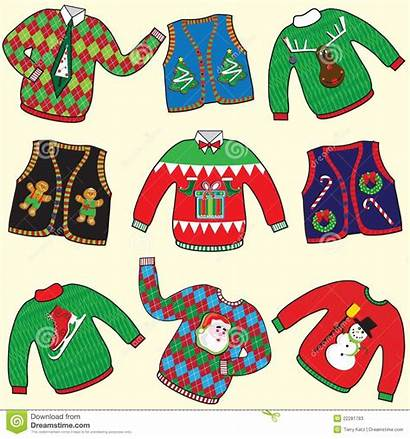 Sweaters Ugly Clipart Jumpers Sweater Clip Tacky