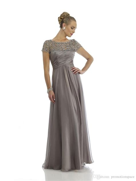 New Arrival 2015 Gray Mother of the Bride Dresses with ...