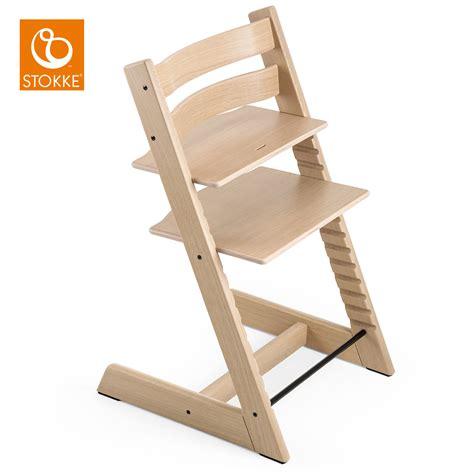 Trapp Stühle by Stokke Hochstuhl Tripp Trapp Eiche White Babyjoe Ch