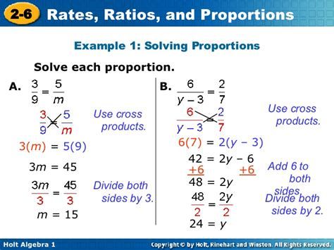 Ratio, Rates And Proprotion