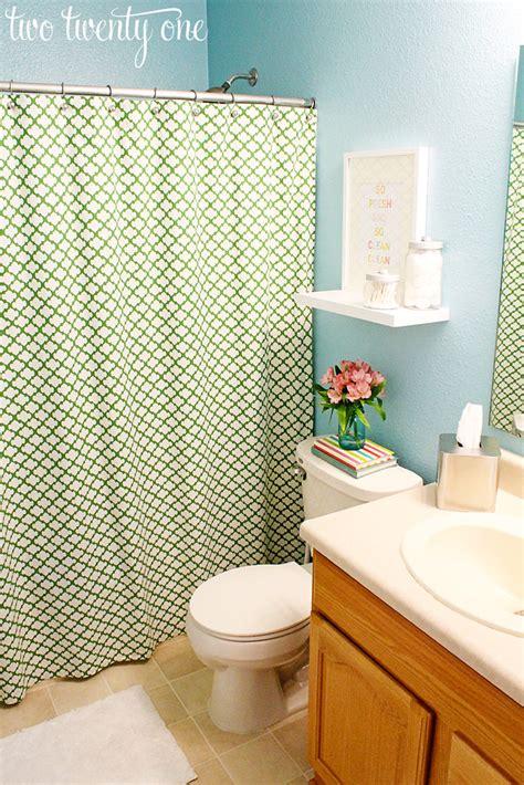 guest bathroom reveal  makeover diy
