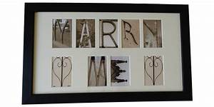 Marry me letter art in sepia 1675ins x 975ins 3 for Marry me light up letters