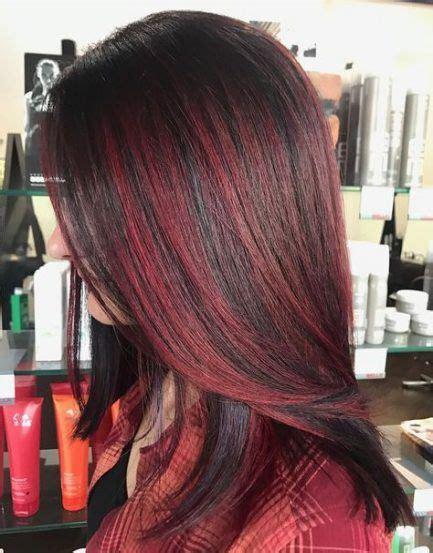 29 trendy hair color red brown burgundy highlights #hair
