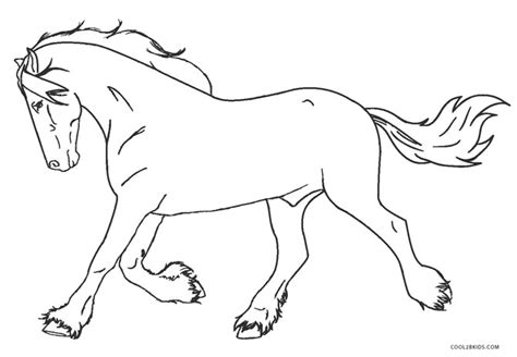 printable horse coloring pages  kids coolbkids