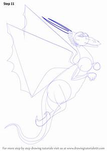 Learn How to Draw a Flying Dragon (Dragons) Step by Step ...