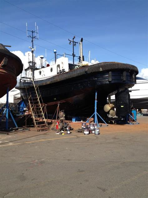 North River Boats Prince George by Ocean Warrior 62 Steel Tug Priced To Sell Outside