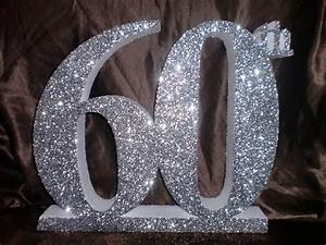 Glitter Birthday Numbers - Polystyrene Lettering and Logo's