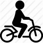Bike Riding Person Icon Transport Icons Ecological