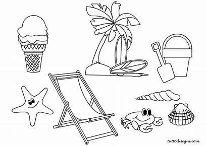 Disegni Estate Colorare Bambini Disegno Mare Tuttodisegni