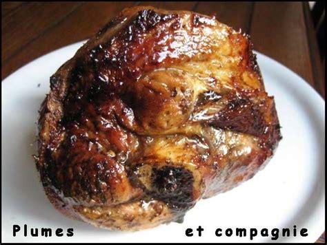 jarret de porc caram 233 lis 233 au four plumes et compagnie