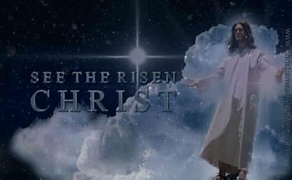 Risen Christ Christian Backgrounds Jesus Hope God