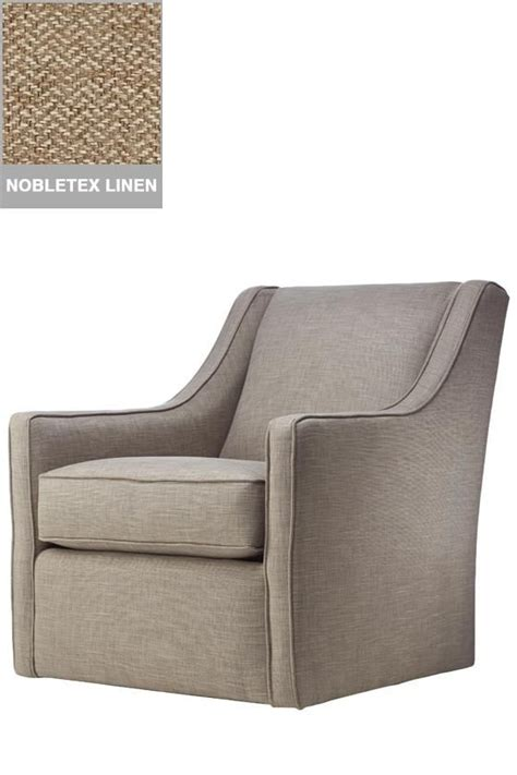 Small Scale Upholstered Living Room Chairs by Custom Khloe Upholstered Swivel Chair Glider Living