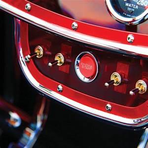 3 Color Illuminated Push Button Start Switch B Hot Rod