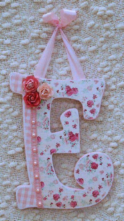 pin  joy ocetnik  letras decoradas chic nursery decor shabby chic nursery decor custom