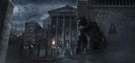 wallpaper thief man garrett games masks night time
