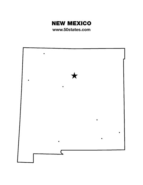 Map Of New Mexico, New Mexico Maps Mapsofnet