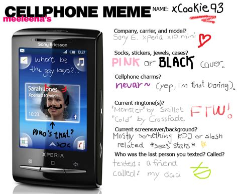 Cellphone Meme - cellphone meme by xcookie93 on deviantart