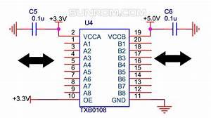 8-way Level Conversion Board