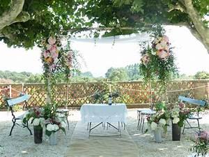 Mariage Theme Champetre : une d coration champ tre pour un mariage 100 nature ~ Melissatoandfro.com Idées de Décoration