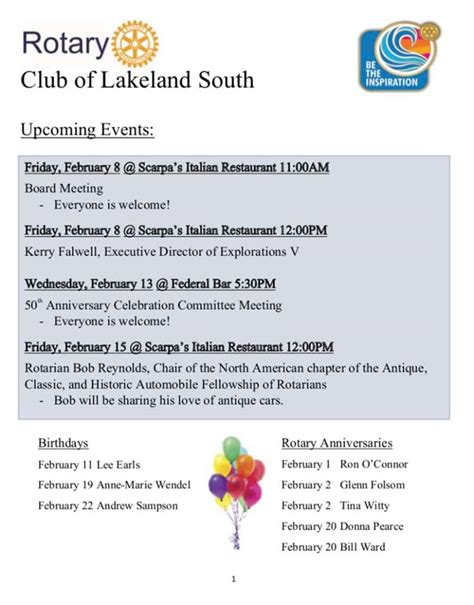 rotary club lakeland south posts facebook