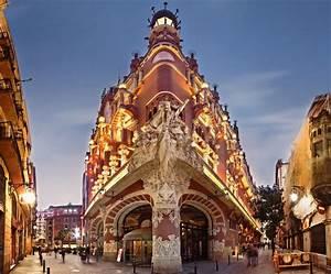 Barcellona  Palazzo Della Musica Catalana  Un Giardino Artificiale