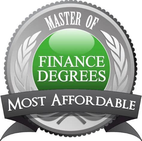 master  finance degree programs master