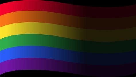 rainbow flag lgbt symbol   vectors clipart