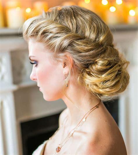coiffure pour un mariage chignon photo coiffure mariage un chignon flou pour cheveux longs