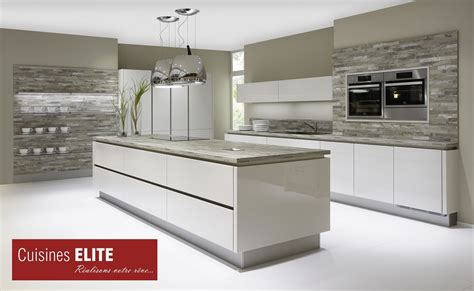 cuisine elite beautiful cuisine gris contemporary design trends