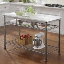 homestyles kitchen island home styles the orleans kitchen island with marble top with free shipping kitchensource