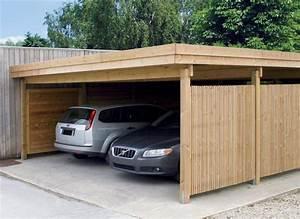 Toit Pergola Bois : carport bois modern line x carport toit plat pergola kiosque chalet carport ~ Dode.kayakingforconservation.com Idées de Décoration