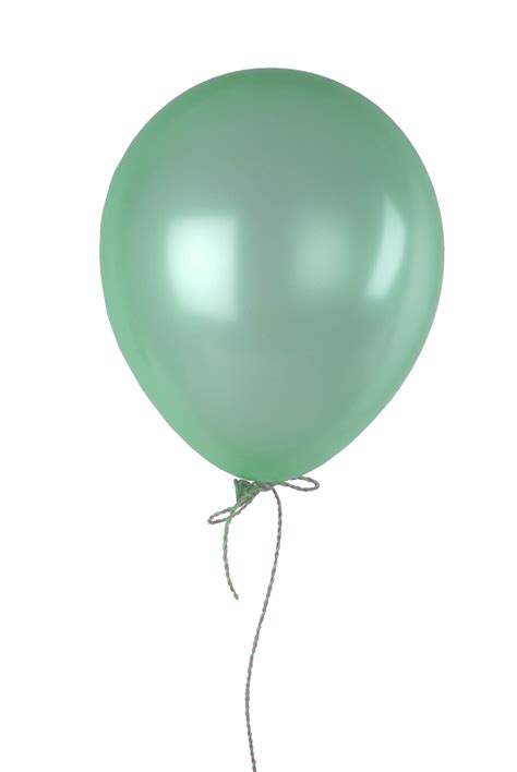 sea foam green  balloons