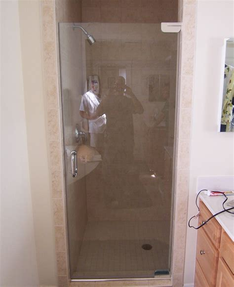 framless shower door single shower doors frameless shower doors