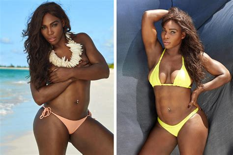 robin williams swimsuit serena williams stars in sports illustrated s 2017