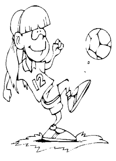 soccer coloring pages  childrens printable