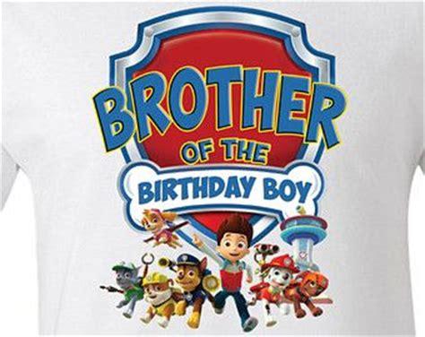 paw patrol birthday brother personalized  shirt onesie