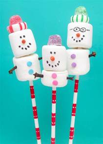 snowman marshmallow family christmas cards