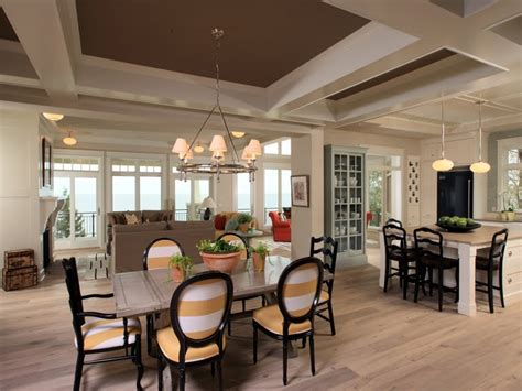 open kitchen dining living room floor plans images