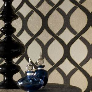 Graham & Brown Highbury Black Wallpaper