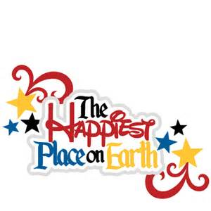 Disney Happiest Place On Earth Clip Art