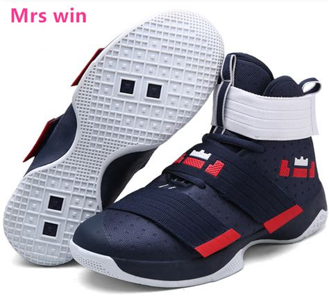 men  women basketball shoe lebron james basket outdoor
