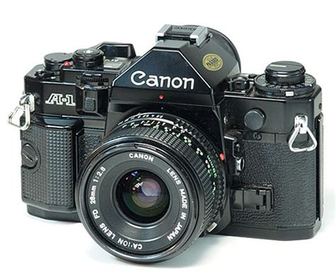 Canon A1  Old Camera's Pinterest