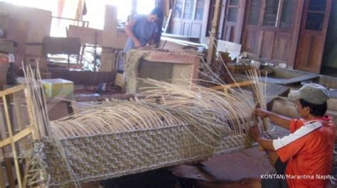 kerajinan rotan alam khas bali toko gabe handicraft