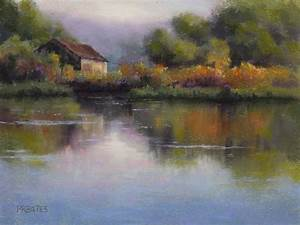 """artist Phil Bates """"Landscape painting"""" example of how ..."""