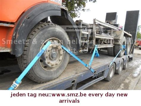 faymonville steerable axle 3 2x ausschiesbar 2005 low loader trailer and specs