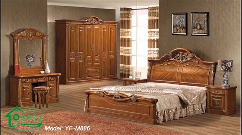 wood bedroom furniture sets youtube